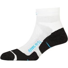 P.A.C. RN 5.1 Running Pro Korte sokker Herrer, hvid/sort